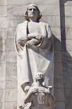 Columbus and winged figurehead. Union Station, Washington, D.C. - Photo #29144