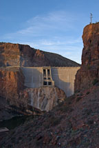 Theodore Roosevelt Dam. Apache Trail, Arizona, USA. - Photo #5644