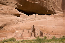 White House Ancestral Puebloan Ruins. Canyon de Chelly NM, Arizona. - Photo #18244