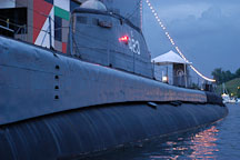 USS Torsk submarine. Baltimore, Maryland, USA. - Photo #3944
