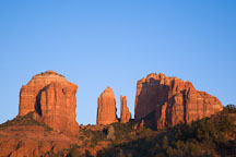 Cathedral Rock Sunset. Sedona, Arizona. - Photo #17645