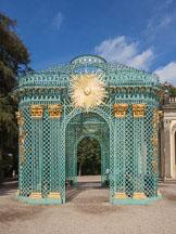 Gazebo at Sanssoucci Palace. Potsdam, Germany. - Photo #30445