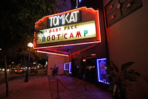Tomkat theater (gay adult movie theater). Los Angeles, California, USA. - Photo #6745