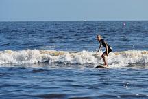 Surfer. Venice, California, USA. - Photo #7446