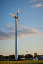 Wind turbine. Nevada, Iowa. - Photo #33046