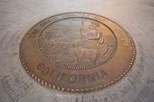 The Great Seal of the State of California. San Jose, California. - Photo #16947