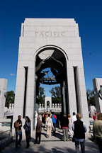 The Pacific arch at the National World War II Memorial. Washington, D.C., USA. - Photo #11447