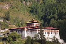 Rinpung Dzong in Paro, Bhutan. - Photo #24347