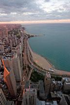 Chicago shoreline. Chicago, Illinois, USA. - Photo #10748