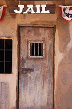 Jail door. Goldfield, Phoenix, Arizona, USA. - Photo #5548