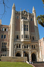 Kerckhoff Hall. Univeristy of California, Los Angeles, California, USA. - Photo #6348