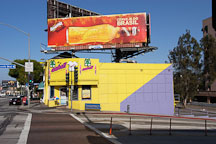 Billboards and stores on Sunset Boulevard, Los Angeles, California, USA - Photo #7549