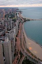 North Lake Shore drive. Chicago, Illinois, USA. - Photo #10749