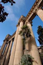 Palace of Fine Arts. San Francisco, California, USA. - Photo #3449