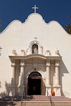 Front of the church of the Immaculate Conception. San Diego. - Photo #26349