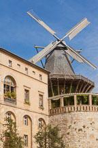 Historic Mill of Sansoucci. Potsdam, Germany. - Photo #30449