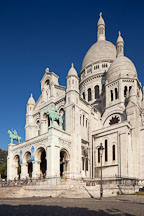 The Sacre-Coeur. Montmartre, Paris, France. - Photo #31849