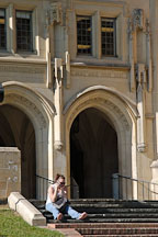 Kerckhoff Hall. Univeristy of California, Los Angeles, California, USA. - Photo #6349