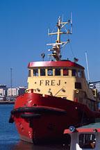 Tugboat. Hietalahti Sandviken, Helsinki, Finland - Photo #349