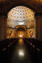 Basilica of the assumption of the blessed virgin Mary. Baltimore, Maryland, USA. - Photo #3886