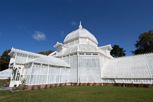 Conservatory of Flowers. Golden Gate Park, San Francisco, California, USA. - Photo #3477