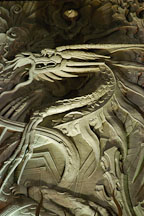 Dragon facade at Grauman's Chinese Theatre (Mann's Chinese Theatre). Hollywood, Los Angeles, California, USA. - Photo #3365