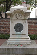 Grave of Edgar Allen Poe. Westminster Hall Cemetery, Baltimore, Maryland, USA. - Photo #3916
