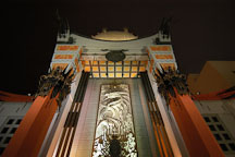 Grauman's Chinese Theatre (Mann's Chinese Theatre). Hollywood, Los Angeles, California, USA. - Photo #3360
