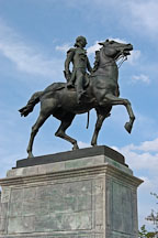 La Fayette statue. Mount Vernon Place, Baltimore, Maryland, USA. - Photo #3911
