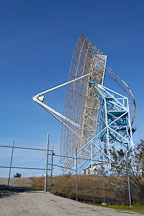 Radio telescope, also known as the Dish. Stanford University, Stanford, California. - Photo #3004