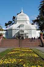 Conservatory of Flowers. Golden Gate Park, San Francisco, California, USA. - Photo #3482