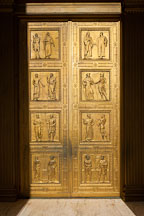 Bronze doors of the Supreme Court. Washington, D.C. - Photo #29205