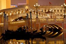 Canals at the Venetian. Las Vegas, Nevada, USA. - Photo #13505