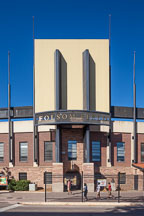 Folsom Field entrance, CU Boulder. - Photo #33105