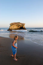 Pictures of Natural Bridges State Beach