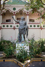 Caesar Augustus statue at the Rosicrucian Egyptian Museum. San Jose, California. - Photo #21950