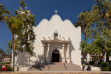 Catholic church of the Immaculate Conception. Old Town, San Diego. - Photo #26350