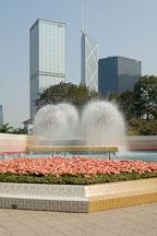 Fountains in Hong Kong Park. Hong Kong, China. - Photo #16450