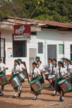 School children in a band. Puerto Maldonado, Peru. - Photo #9050