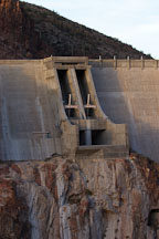 Theodore Roosevelt Dam. Apache Trail, Arizona, USA. - Photo #5650