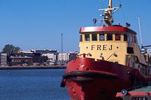 Tugboat. Hietalahti Sandviken, Helsinki, Finland - Photo #350