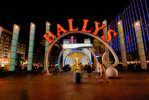 Bally's entrance on Las Vegas Boulevard. Las Vegas, Nevada, USA. - Photo #13351
