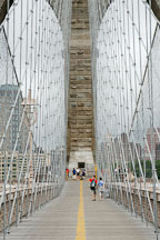 Brooklyn Bridge. New York City, New York, USA. - Photo #13251