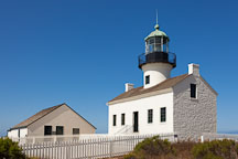 Old Point Loma Lighthouse. San Diego. - Photo #26051