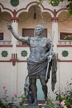 Statue of Caesar Augustus at Rosicrucian Park. San Jose, California. - Photo #21951