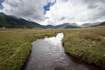 Stream flowing through the center of Phobjikha Valley. - Photo #23851