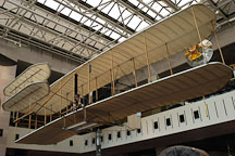 Wright brother's airplane at the Smithsonian Air and Space Museum. Washington, D.C. - Photo #1851