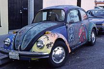 Artist's Volkswagen Bug. Los Angeles, California. - Photo #52