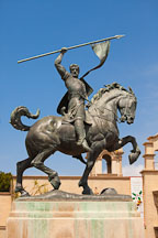 El Cid statue. Balboa Park, San Diego. - Photo #25752