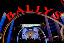 Entrance to Bally's hotel. Las Vegas, Nevada, USA. - Photo #13352
